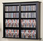 Wall Mount 349 CD 142 DVD Storage Rack - NEW