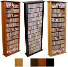 "754 CD 312 DVD 76"" Tall Tower CD DVD Storage  Rack NEW"