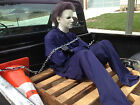 MICHAEL MYERS JASON Halloween High Quality COVERALL Jumpsuit Costume Friday 13th