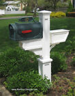 Signature Mailbox Post - Mayne PVC Vinyl Mail Box Post