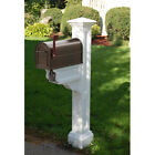 Charleston Plus Mailbox Post - Mayne PVC Vinyl Mail Box Post