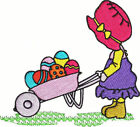 Easter Sunbonnet Sue Machine Embroidery Designs CD Set