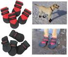 Ultra Paws DURABLE Dog Boots Water Resistant Booties for Snow Ice Mud Wood Floor