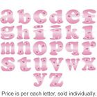 Pink Butterfly Decal Letters Childrens Nursery Baby Room Name Wall Kids Stickers