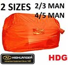 EMERGENCY SURVIVAL SHELTER TENT BOTHY BAG - Hi Vis ORANGE MOUNTAIN RESCUE Bivi