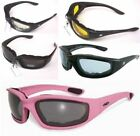 Motorcycle Glasses Sunglasses Padded Padding Anti Fog Moped ATV Motor Scooter