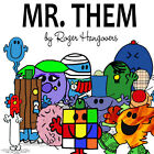 T-shirt  Uomo Ragazzo Mr Them Mr Men Collection by Roger Hargreaves
