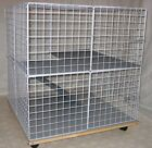Rabbit cage Indoor BUNNY MINI-CONDO, deluxe hutch, pet pen smooth & soft floors
