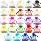 24 Premium Organza Gift Pouches/Bags Jewellery Wedding Favor Bag 10x12cm