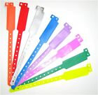 10 VINYL WRISTBANDS (Best quality, Wide variety of colours, plastic)