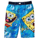 SPONGEBOB SQUAREPANTS Toddlers Blue Bathing Suit Swim Trunks NWT Sz 3T or 4T $22