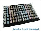 33.5x22.5cm Black Velvet Ring Jewelry Display Insert Pad for Utility Tray Case