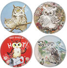 Owl Glass Pocket Purse MIRROR Cute Vintage Retro Art Prints Ornament Gift New