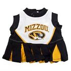 Mizzou Missouri Tigers NCAA Pet Dog Cheerleader Dress (sizes)