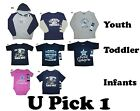 YOUTH DALLAS COWBOYS BOYS GIRLS AUTHENTIC APPAREL SHIRTS INFANTS TODDLER TEXAS
