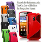 GRIP S-LINE WAVE TPU GEL SILICONE SKIN CASE COVER FIT VARIOUS LG MOBILE PHONE