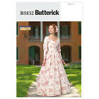 Butterick 5832 Misses' Civil War Era Dress/Gown Costume Sewing Pattern