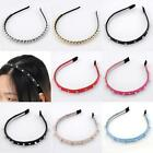 1PC Punk Vogue Rivet Spike Leather Headband Headdress Hair Accessory Party Lady