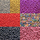 20 or 40 grams 0.7mm No Hole Glass Micro Accent Caviar Beads Glitter Nail Crafts