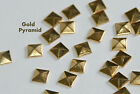1000 Pieces 10mm Hotfix Iron On Glue on Pyramid Flat Back Studs Studded iPhone