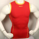 New 181 Skin Tight Mens Compression Sports Top Shirt Red