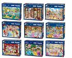 Disney Official Licensed 1000 Piece Jigsaw Puzzles - Choice of 7 Cartoon Designs