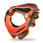 NEW 2014 FLY RACING VALOR MX LEATT Neck Brace Orange Black ATV BMX Motocross