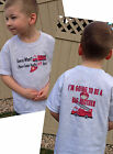 Guess What? I'm Going To Be A BIG BROTHER Fire Truck T-Shirt Fireman Rescue 911