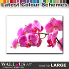 Orchid Flowers FLORAL  Canvas Print Framed Photo Picture Wall Artwork WA