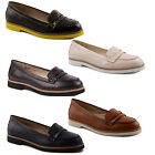 New Ladies Dolcis Flat Slip On Moccasin Pumps Loafers Shoes Sizes UK 3 4 5 6 7 8