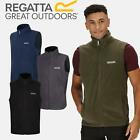 REGATTA TOBIAS LIGHT FLEECE BODYWARMER GILET WORK WAISTCOAT S-5XL FREE POST