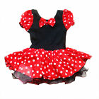 SZ 1-10 Years NWT Girl Halloween Minnie Mouse Party Ballet Tutu Fancy Kid Dress