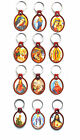 Jesus Christ / Mary - Christian Keyring / Keychain - Many Designs -