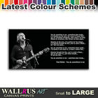 Paul Weller Lyrics Music Canvas Print Framed Photo Picture Wall Artwork WA