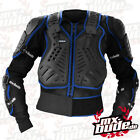 MX Bude Safety Jacket Brustpanzer Enduro Motocross Cross Quad Supermoto blau