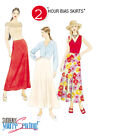 McCall's 4258 OOP Sewing Pattern to MAKE Very Easy & Quick Bias Skirts