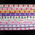 "5yd 10Yd 3/8"" Mother's Day Carnation Grosgrain Ribbon free shipping"