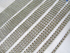 Sparkly diamante effect trim ribbon cakes, bridal, crafts 5mm 15mm 25mm 50mm