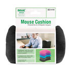 IMAK Mouse Wrist Rest Support Cushion, Choose: Grey, Black, Blue, Pink or Purple