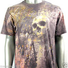 Minute Mirth T-Shirt Skull Tattoo Punk Rock Art N6 Sz M L Graffiti Skate Board