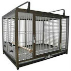 KINGS CAGES ALUMINIUM PARROT TRAVEL CAGE ATM 2029 bird BRONZE cage toy toys