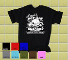 "FRANK ZAPPA ""Frank's Hot Rat Burgers"" Original T - Shirt"