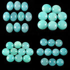 AAA Amazonite gemstone oval round shaped cab cabochon lot 6mm 8mm 10mm