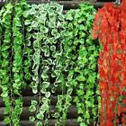 12 PCS 9.19ft Artificial Ivy Vine Garland Plants Fake Leaf Flower Decor