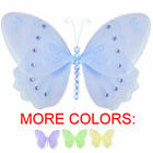Butterfly Decor Nylon Hanging Wall Ceiling Baby Nursery Room Decoration Shower