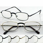 D(R46B)2Pairs Curve Nose Bridge Metal Frame Reading Glasses/5Colours/Flexi hinge