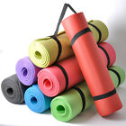 15mm Thick Non Slip Yoga Exercise Camping Sleeping Mat Pilates Fitness Gym Mats
