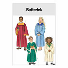 Butterick 4542 Sewing Pattern to MAKE Child Church Choir Robes w/Neck Variations