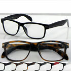 D(R142B)2 Pairs Plastic Reading Glasses/Wayfarer/+0.50+0.75+1.00+1.25+1.50+1.75