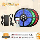 IP68 5M 3528/5050 Warm/Cool/RGB 150/300 SMD LED Car TV Decoration Strip Light UK